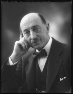 Photograph of the first Lord Gisborough taken in 1922